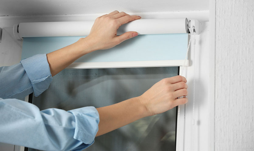 blinds fixing