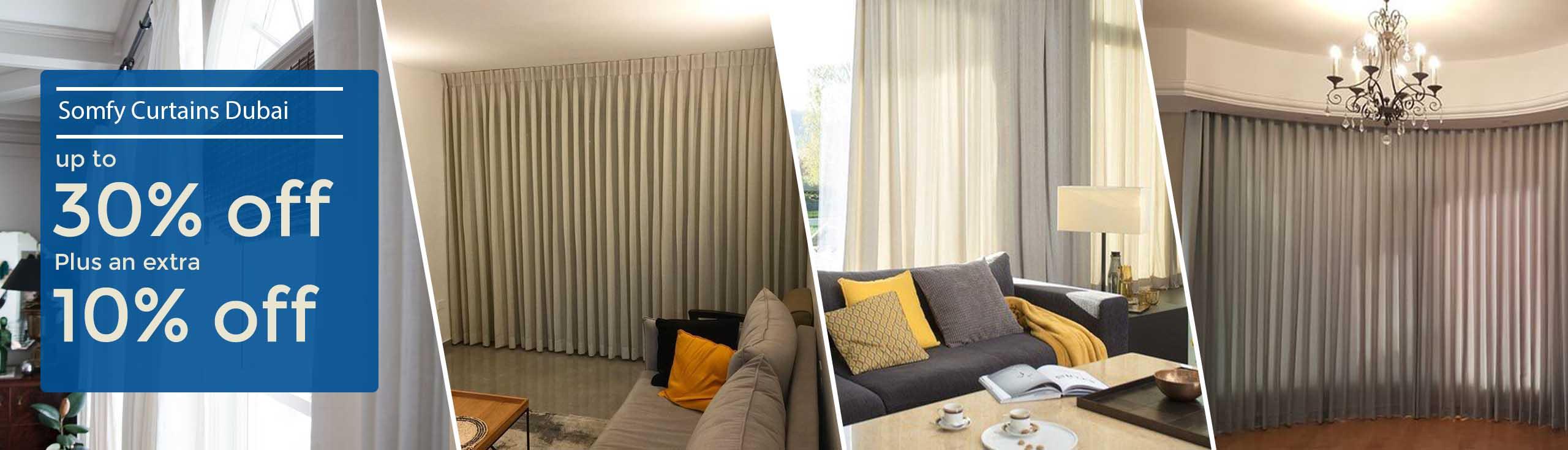 Somfy Curtains Dubai